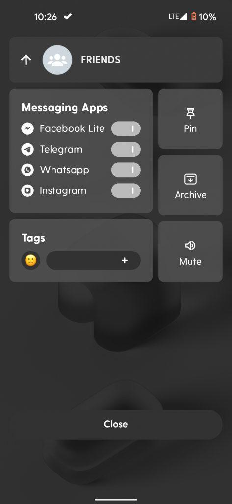 Chat info